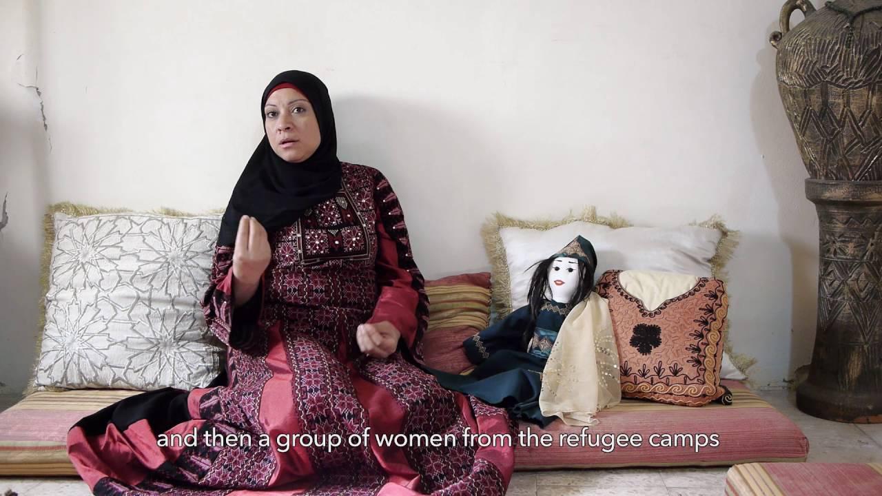 【刺繍針で戦う女性たち:パレスチナ美術館・サテライト展】