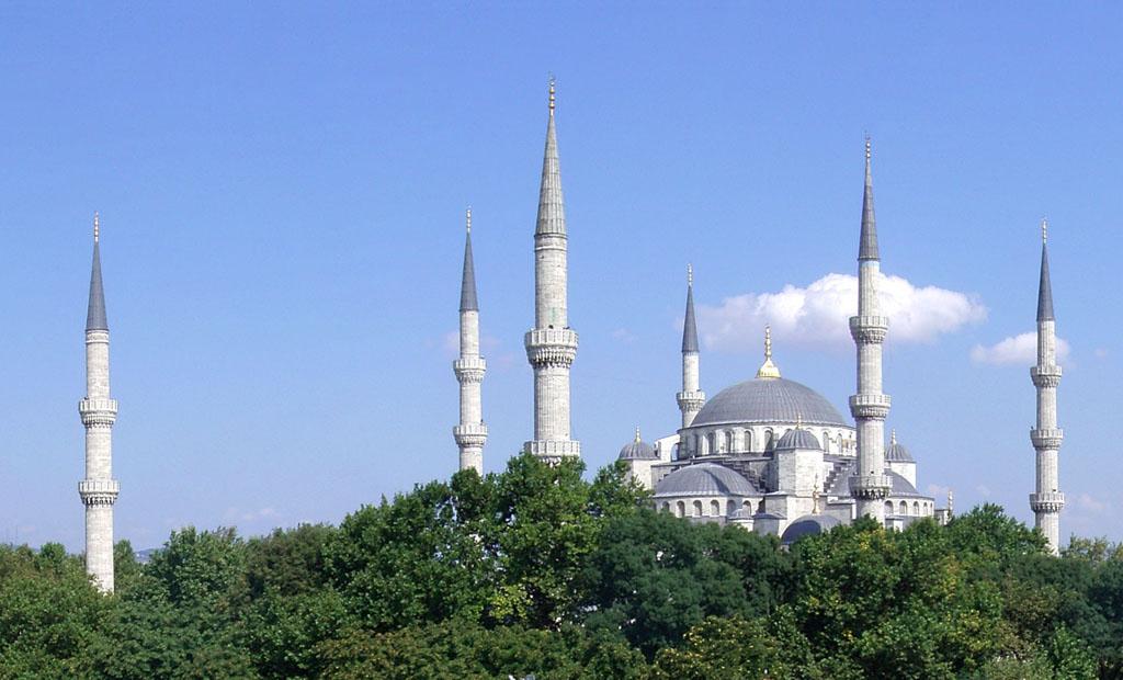トルコ モスク ブルー スルタンアフメト・モスク