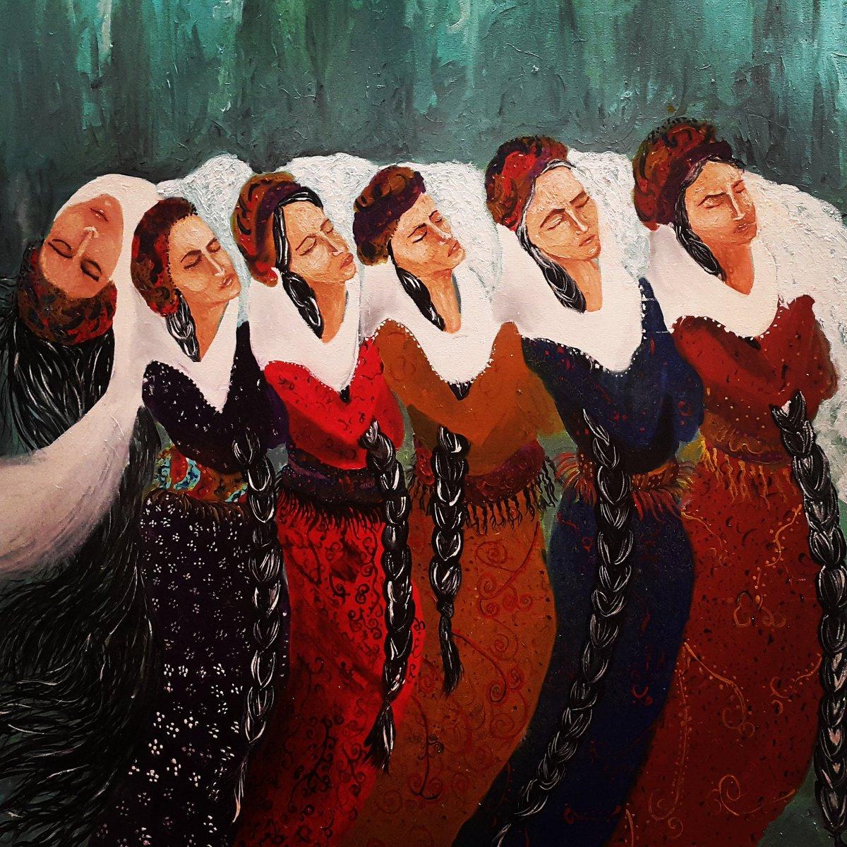 Zehra Doğan twitter painting