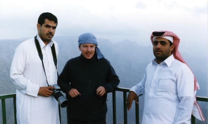 Edge Of Arabia創設者AHMED MATER, STEPHEN STAPLETON AND ABDULNASSER GHAREM。 写真;Edge of Arabia ウェブサイトより。